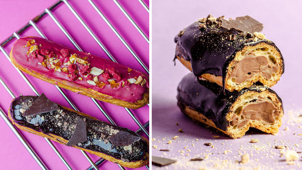 A Chocolate Éclair Bakery Now Exists In Manchester And It's Instagrammable AF