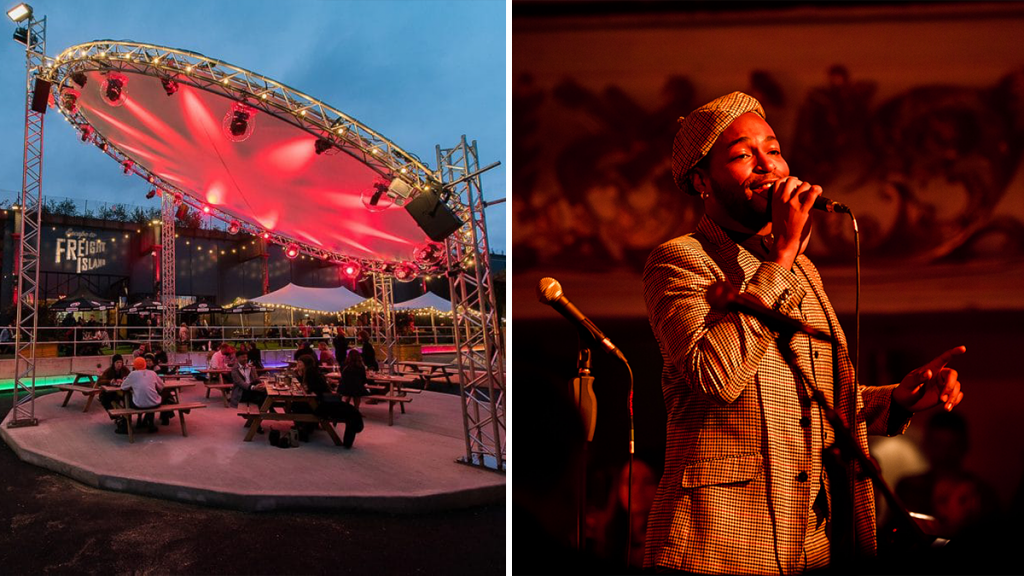 Enjoy Orchestral Performances Of Disney & Stevie Wonder At This Gorgeous Outdoor Dining Space