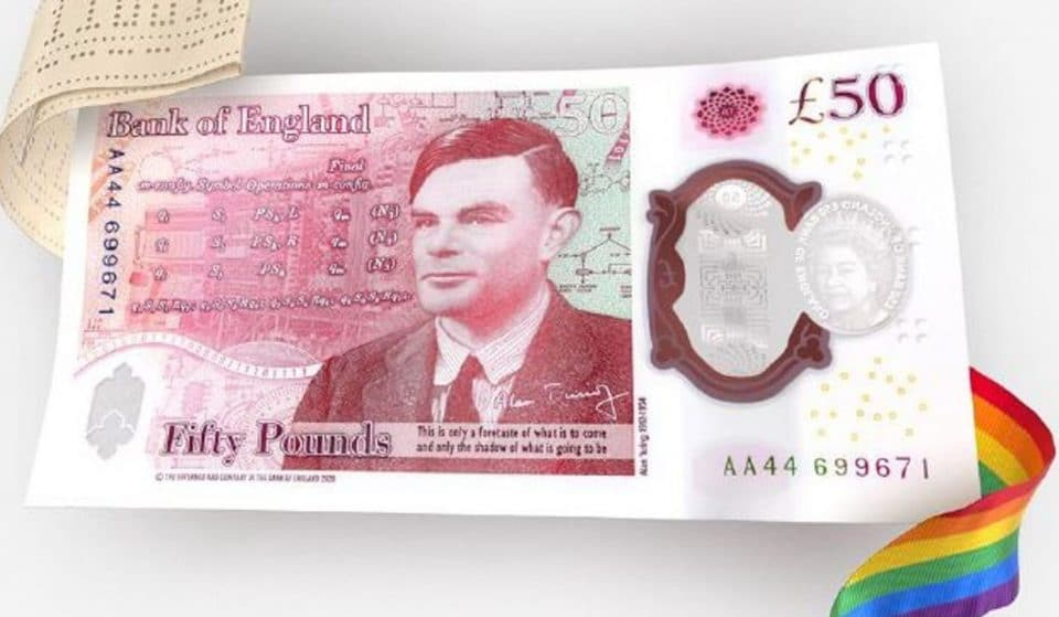 Manchester Icon Alan Turing Is The New Face Of The £50 Note