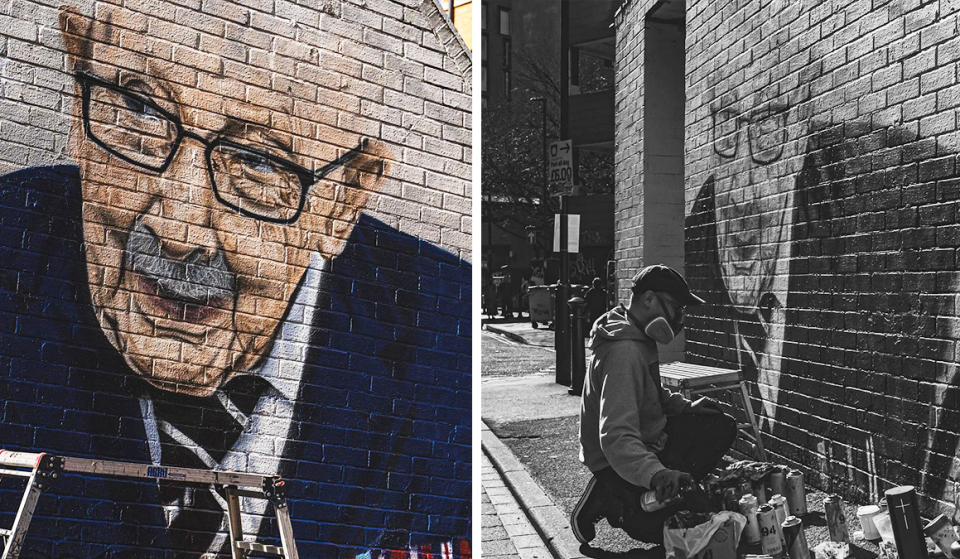 A Beautiful Captain Sir Tom Moore Tribute Mural Has Popped Up In The Northern Quarter