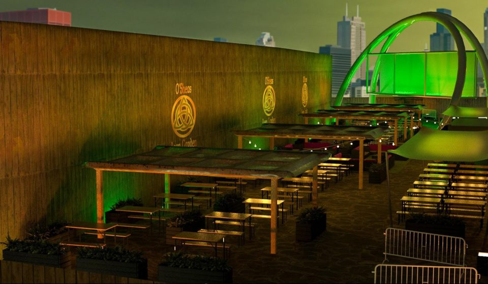 This Manchester Irish Bar Is Opening A Huge New Beer Garden Near Piccadilly Station