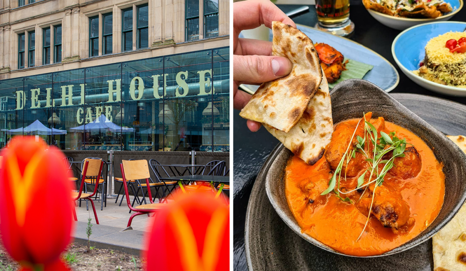 Unwind With Irresistible Indian Comfort Foods On Manchester's Scenic New Al Fresco Terrace