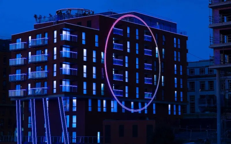 The Salford Apartment Building That Provides The Backdrop For Hit Show 'The Circle'
