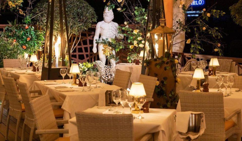 Take A Trip To The Amalfi Coast At Hale's Brand New Italian-Themed Alfresco Dining Terrace