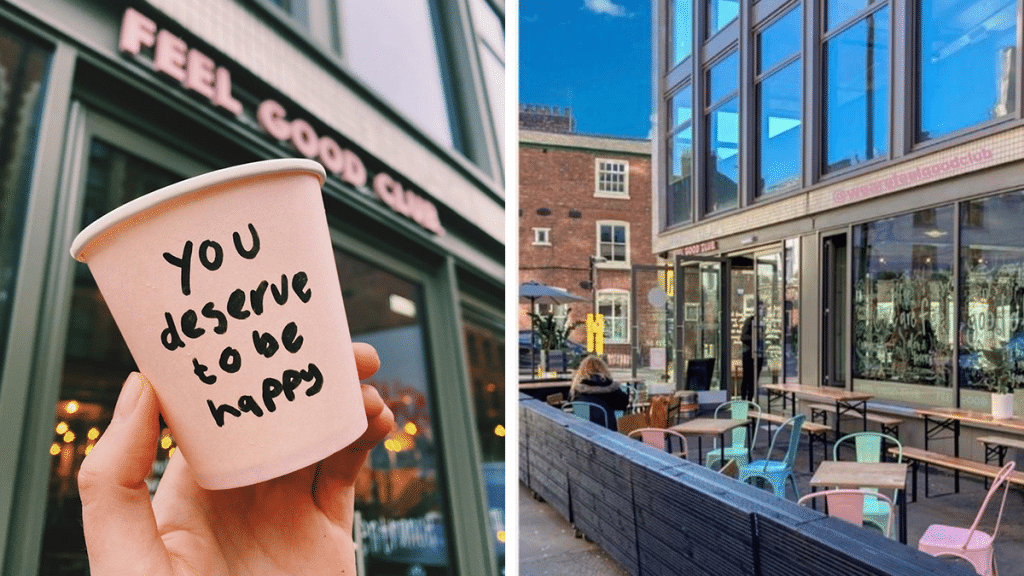 Manchester's Wonderful Wellbeing Cafe Is Back With A Lovely Alfresco Terrace