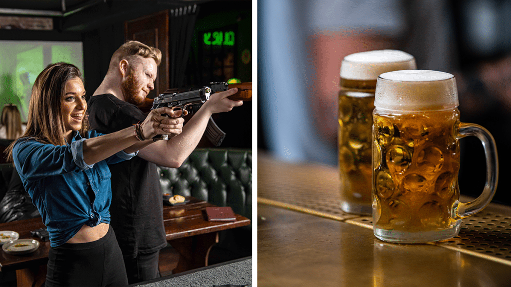 Manchester's Amazing Simulation Shooting Range Is Returning With An Amazing Bottomless Brunch