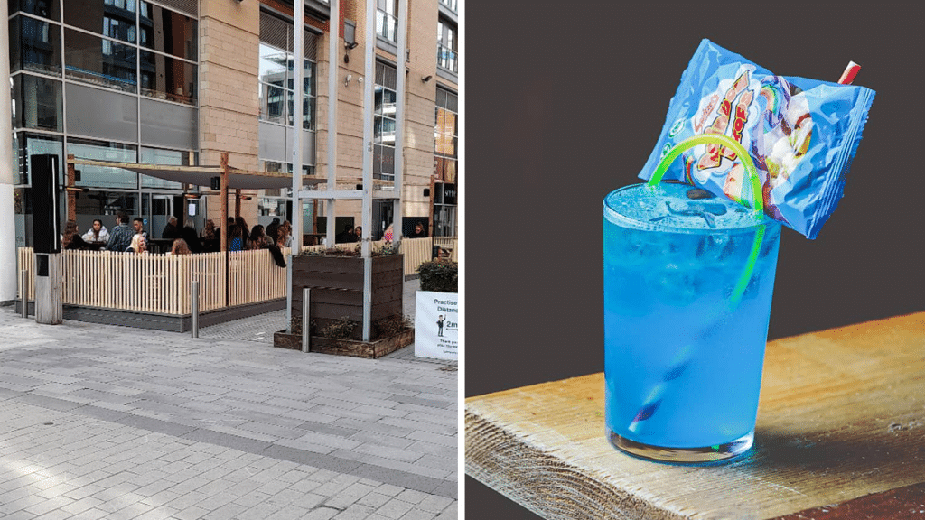 A Crazy Cocktail Bar Has Popped Up In Spinningfields Just In Time For Summer