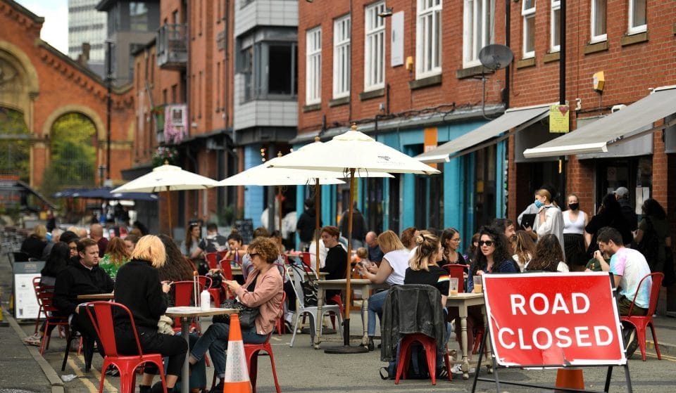 Manchester's Street Beer Gardens May Be Permanently Closed Down As Legislation Ends