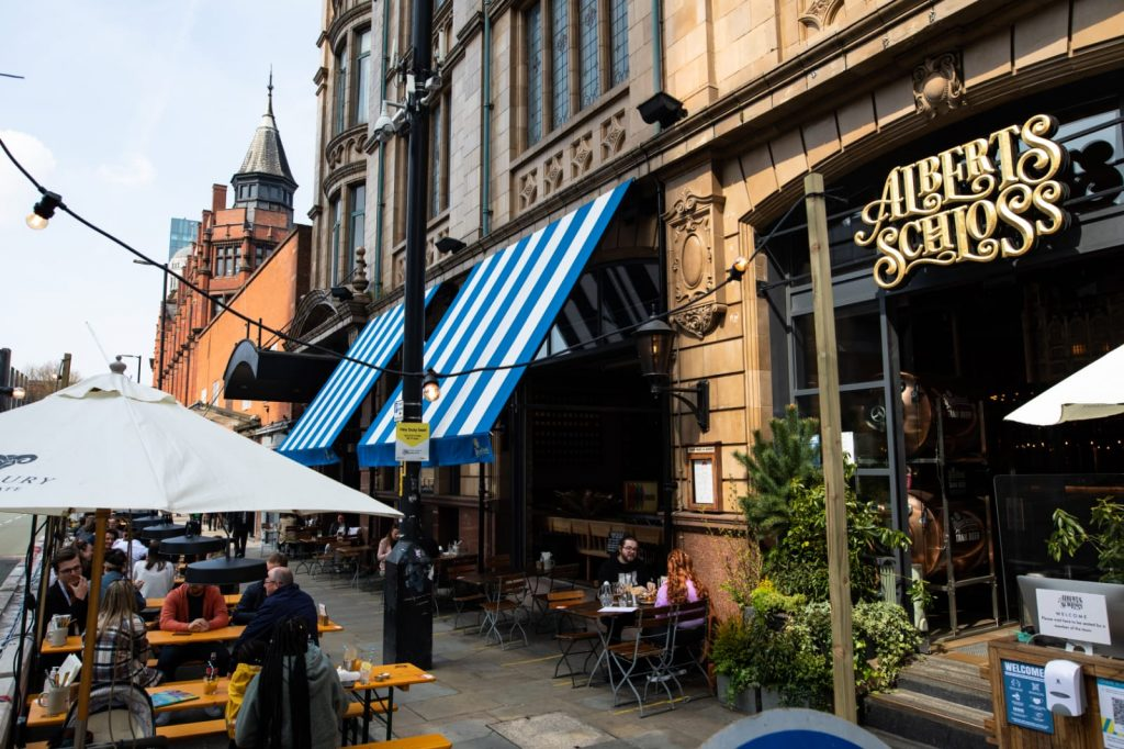 Albert's Schloss Has Opened An Alpine-Inspired Al Fresco Terrace With Bavarian Beers And Grub