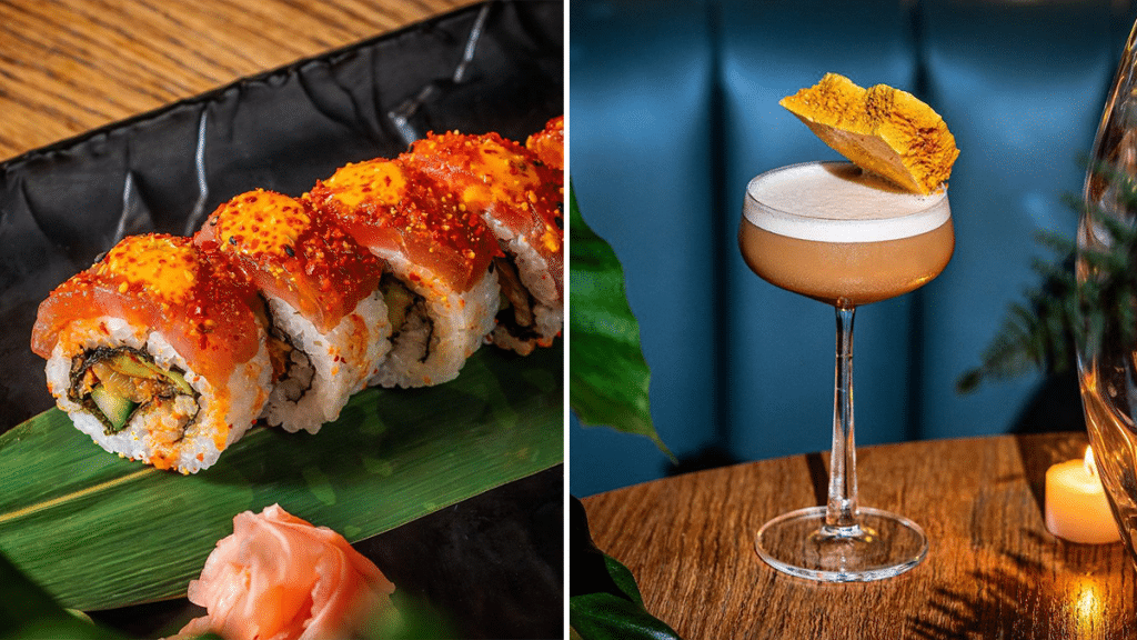 The Lively Bottomless Sushi Supper Club With Live DJs And Cocktails