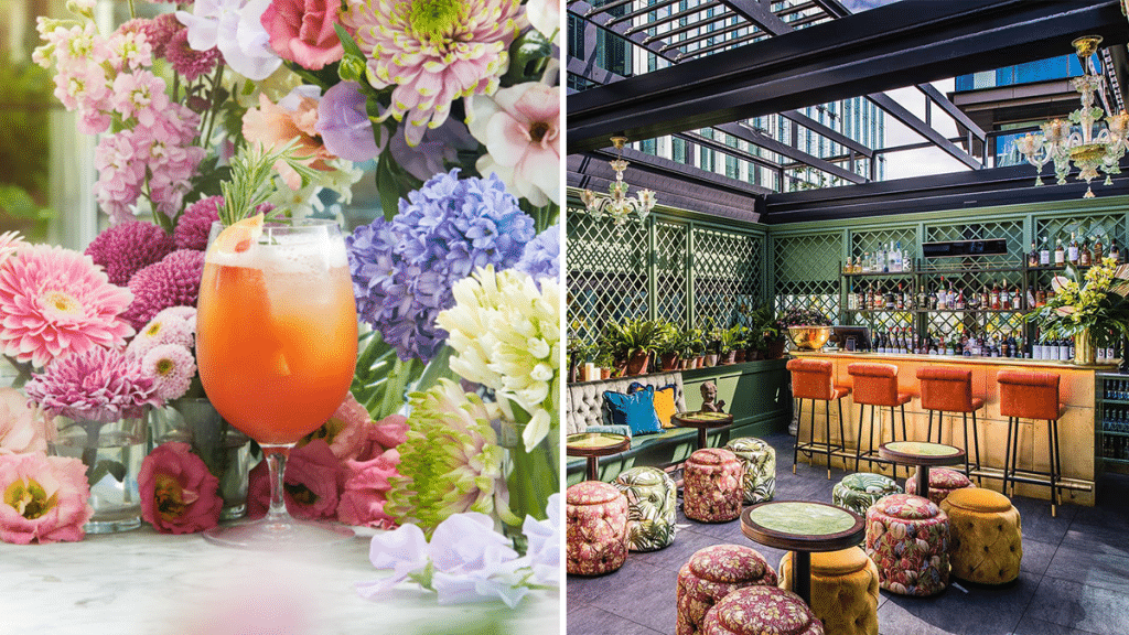 The Ivy Is Reopening Its Stunning Venue With A New 'Summer of Love' Themed Menu
