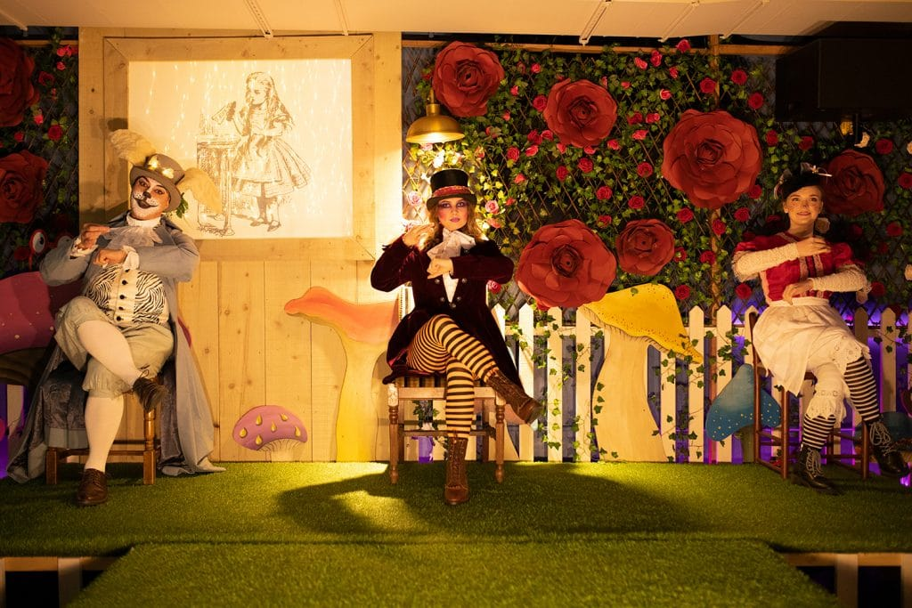 Go Down The Rabbit Hole At This Wonderland-Themed Gin & Tea Party