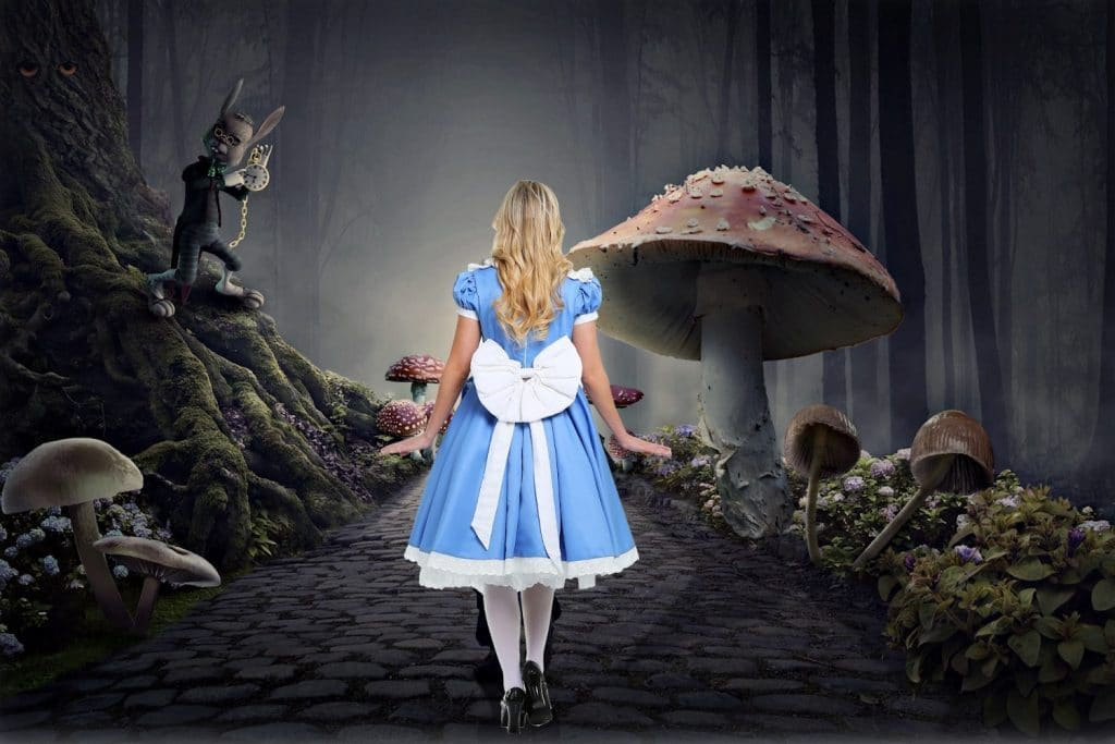 Fall Down The Rabbit Hole At This Curious Wonderland-Themed Drive-Inside Musical