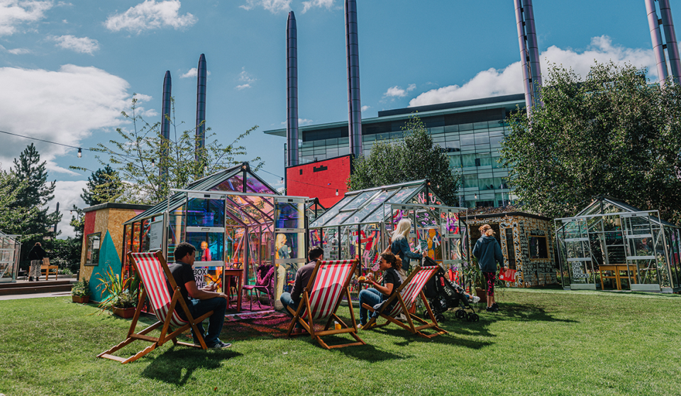 MediaCityUK's Wonderful Al Fresco Dining Greenhouses Are Returning For The Summer