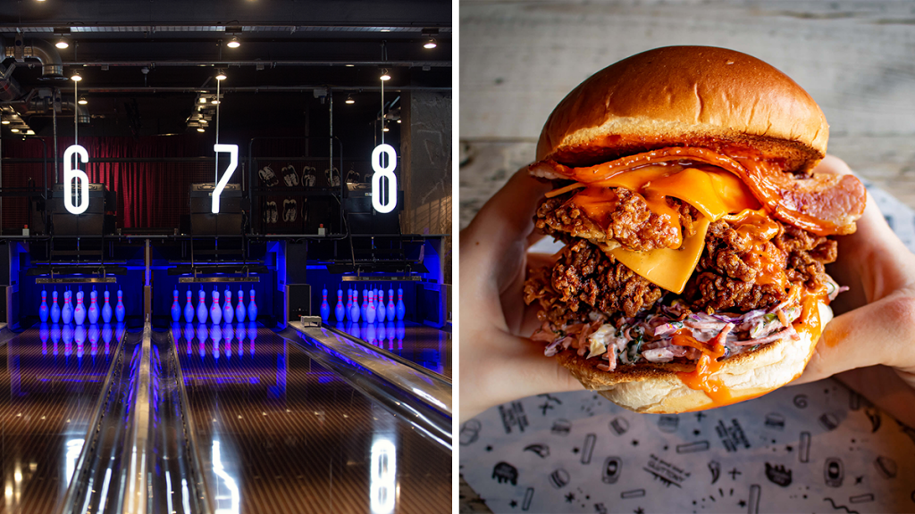 The Next Level Industrial Bowling Alley With Peanut Butter Burgers, Karaoke & Craft Beers