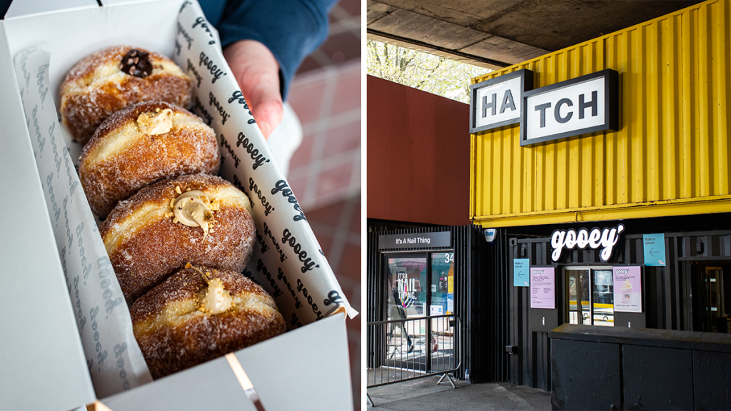 Gooey Has Opened A Brand New Kiosk At Manchester's Bustling Hatch Complex