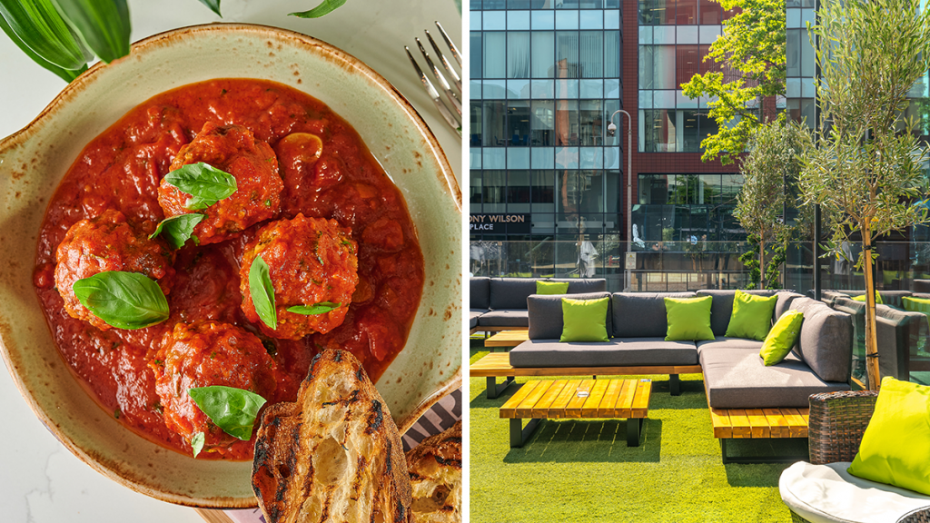 Gino D'Acampo To Open Brand New Manchester Lounge And Kitchen With A Summery Outdoor Terrace
