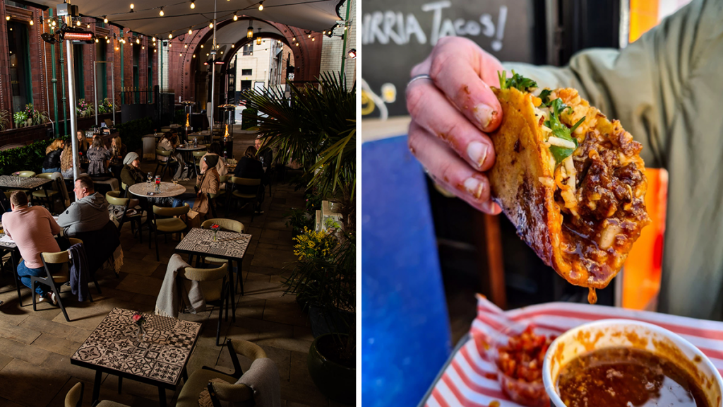 The Refuge Is Hosting An Epic Series Of Street Food Takeovers On Their Beautiful Glittering Terrace