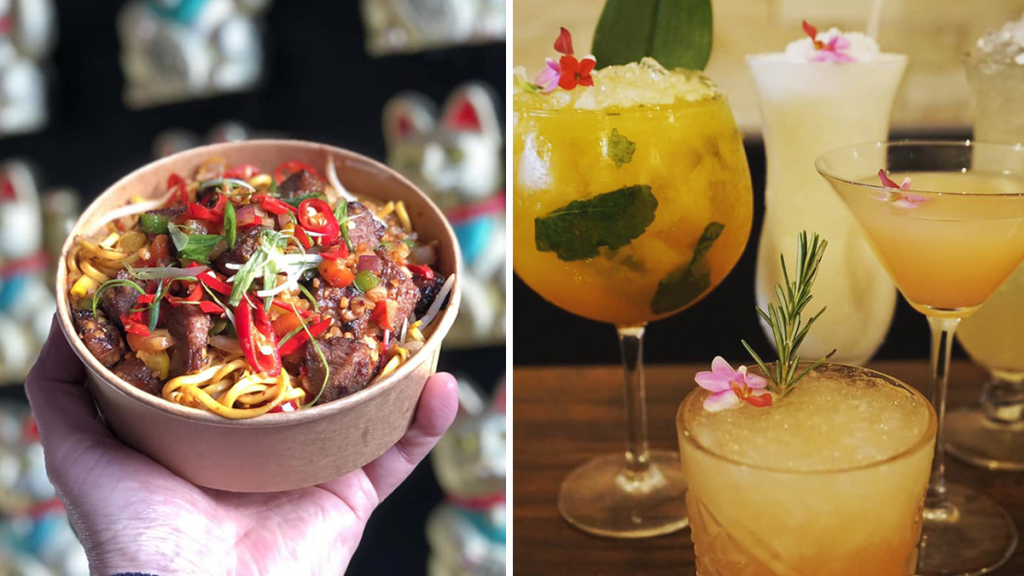 Chow Down On A Chinese Bottomless Brunch With Tasty Bao Buns And Gin Fizz Cocktails