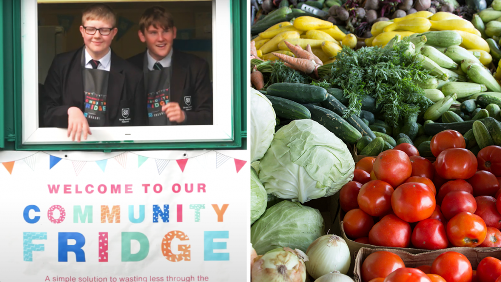 A Brand New 'Community Fridge' Has Opened Right Here In Manchester, Helping To Tackle Child Food Poverty