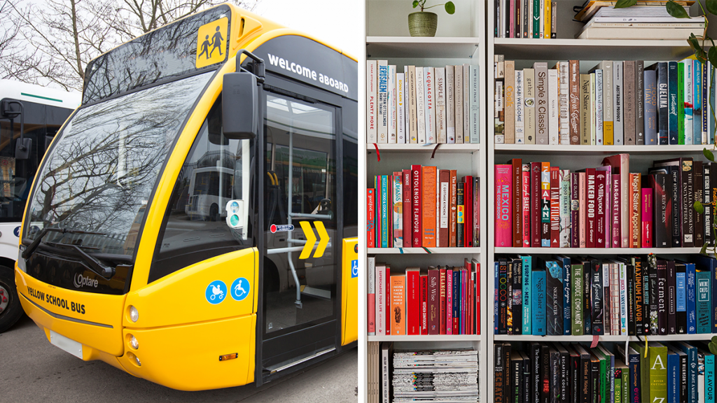 You Now Can Get A TfGM Yellow School Bus To Transform It For A Good Cause