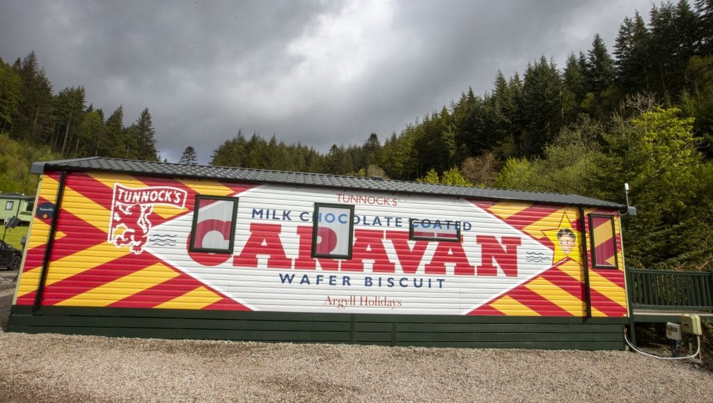 A Tunnock's Themed Caravan Now Exists – And We Need To Get A-Wafer For The Weekend Here