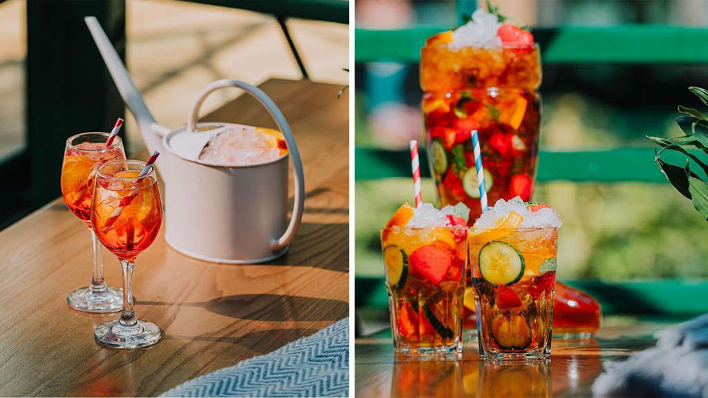 This Summery Manchester Bar Is Now Serving Fun Cocktails In Watering Cans And Wellies