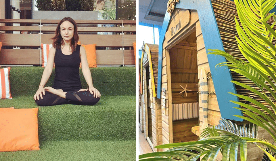 Experience Island Life With These Relaxing Yoga Sessions At Manchester's Ibiza-Style Beach Club