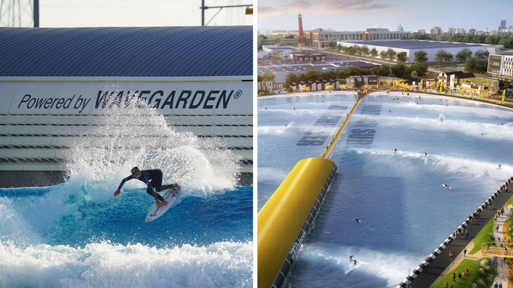 A Fun New 'World Class' Surfing Lagoon Is Coming To TraffordCity
