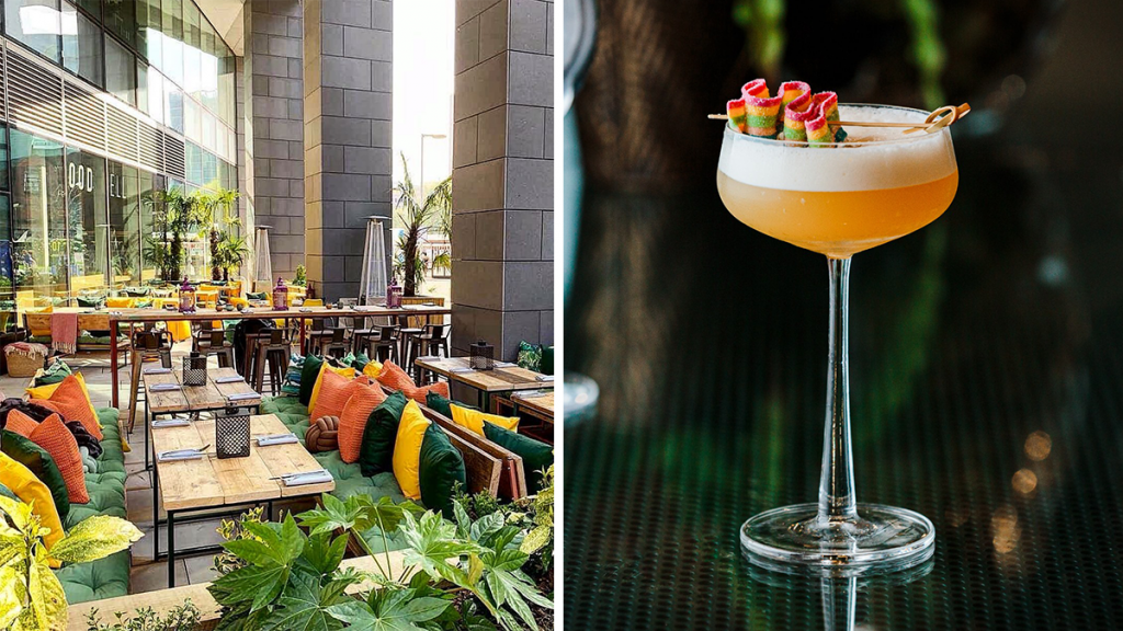 The Transformative Bar & Restaurant Offering Cali Vibes By Day And New York Glam By Nightfall