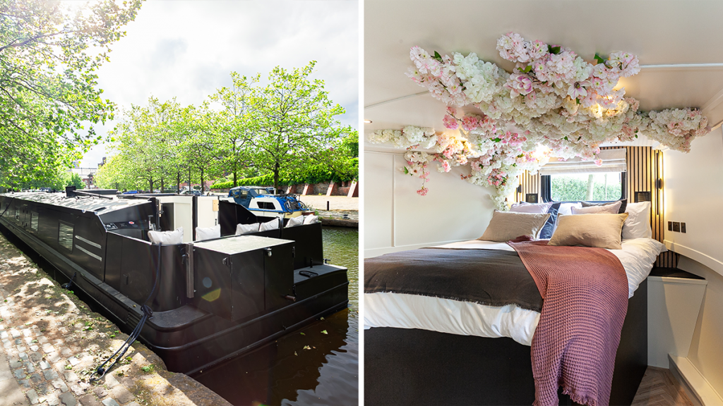 This Luxury Canal Boat With Lavish Interiors Makes For The Perfect Manchester Staycation