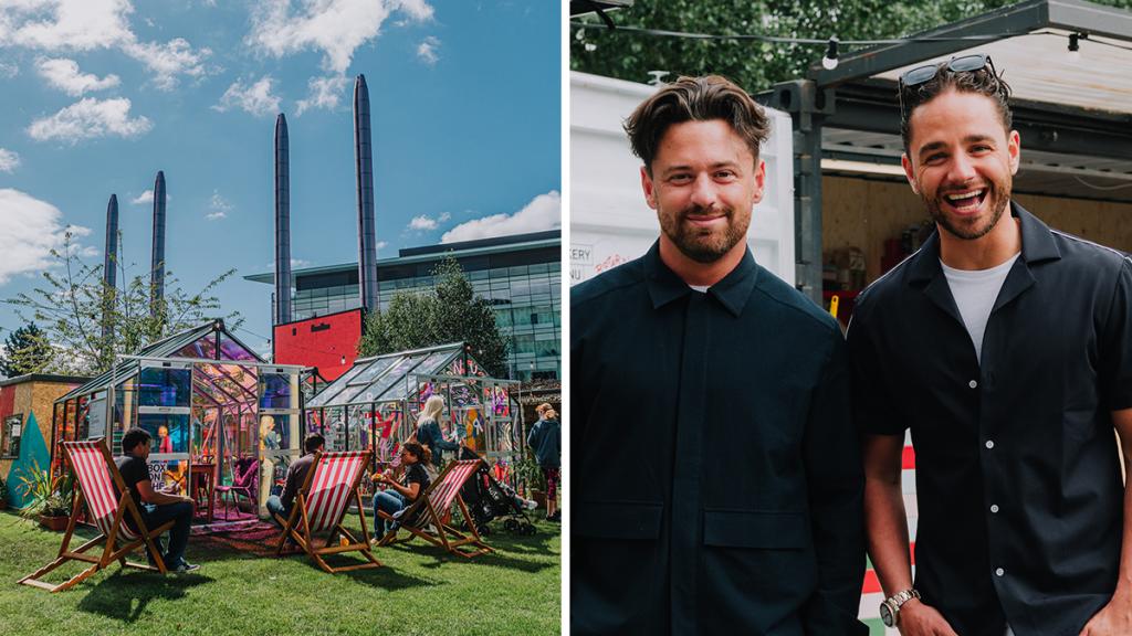 Adam Thomas Opens A Summer Greenhouse Pop-Up With Huge Burgers At MediaCityUK