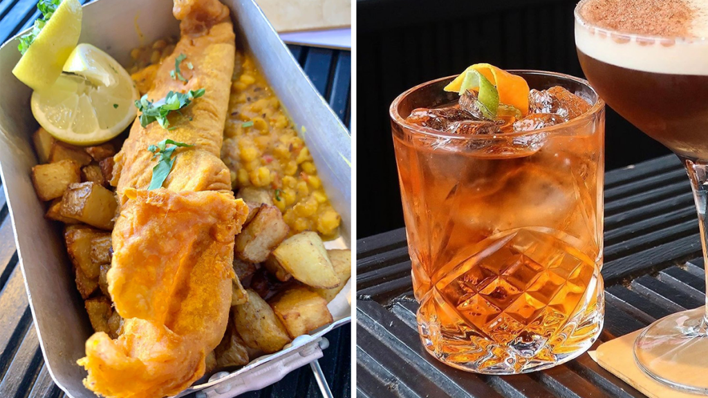 The India-Meets-Scotland Street Food Spot Serving Up Irn Bru Cocktails & Indian Fish & Chips