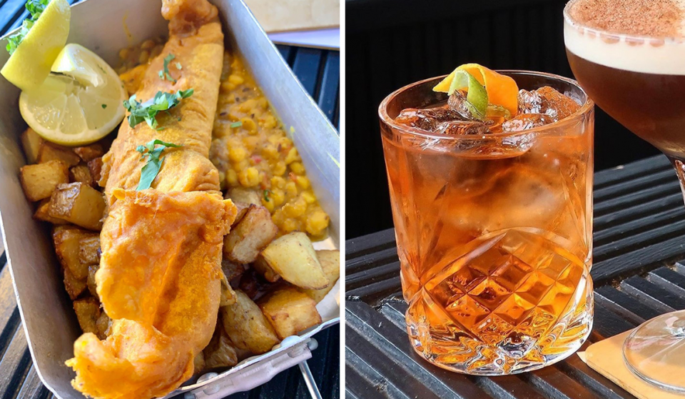 The India-Meets-Scotland Street Food Spot Serving Up Iron Bru Cocktails & Indian Fish & Chips