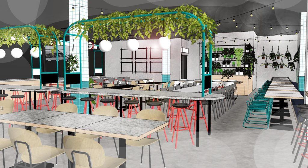 A Brand New Food Hall Championing Local Independents Is Coming To Sale This Summer