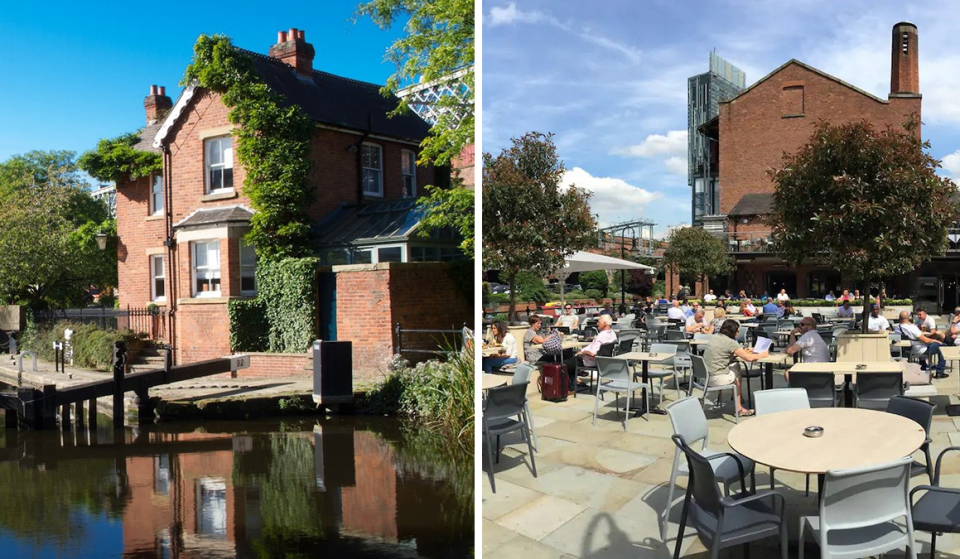 Stay At This Waterside Airbnb In Manchester City Centre With A Huge Beer Garden On Its Doorstep