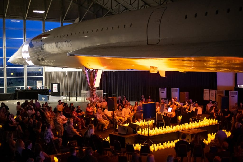 Re-Live Famous Rom-Com Soundtracks With A Twist At This Stunning Concert Under A Plane