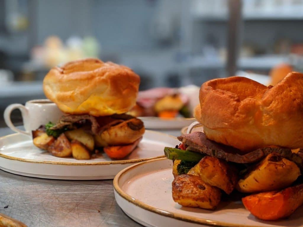 Enjoy A Sunday Roast With Bacon Bloody Mary's & Bottomless Gravy At This Manchester Bar