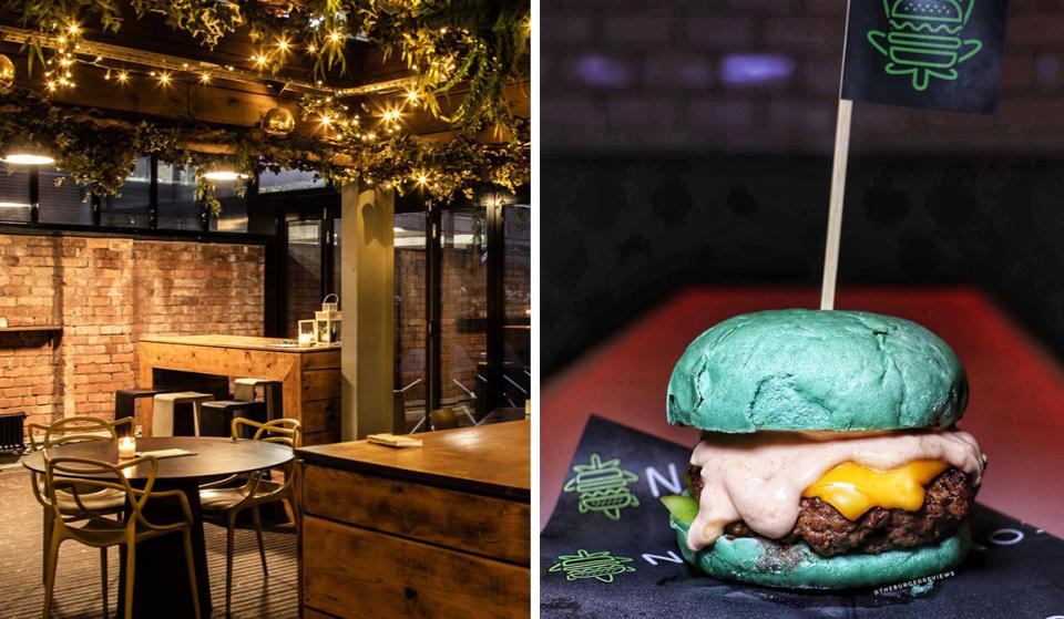 The Sun-Dappled Manchester Rooftop Serving The UK's First CBD Burgers & Frozen Cocktails