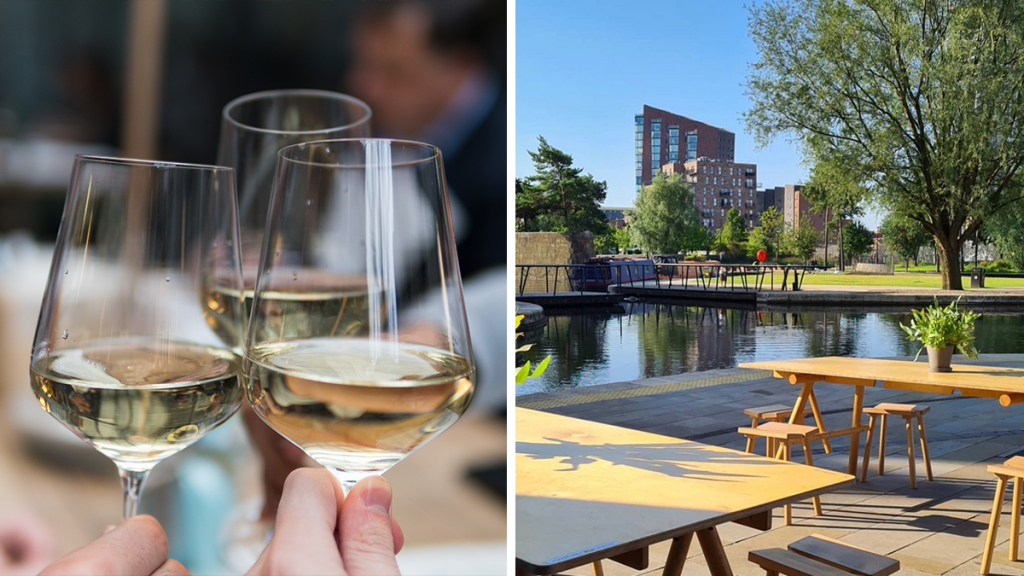A Waterside Natural Wine & Cheese Bar Has Popped Up In Ancoats & It Overlooks The Stunning Marina
