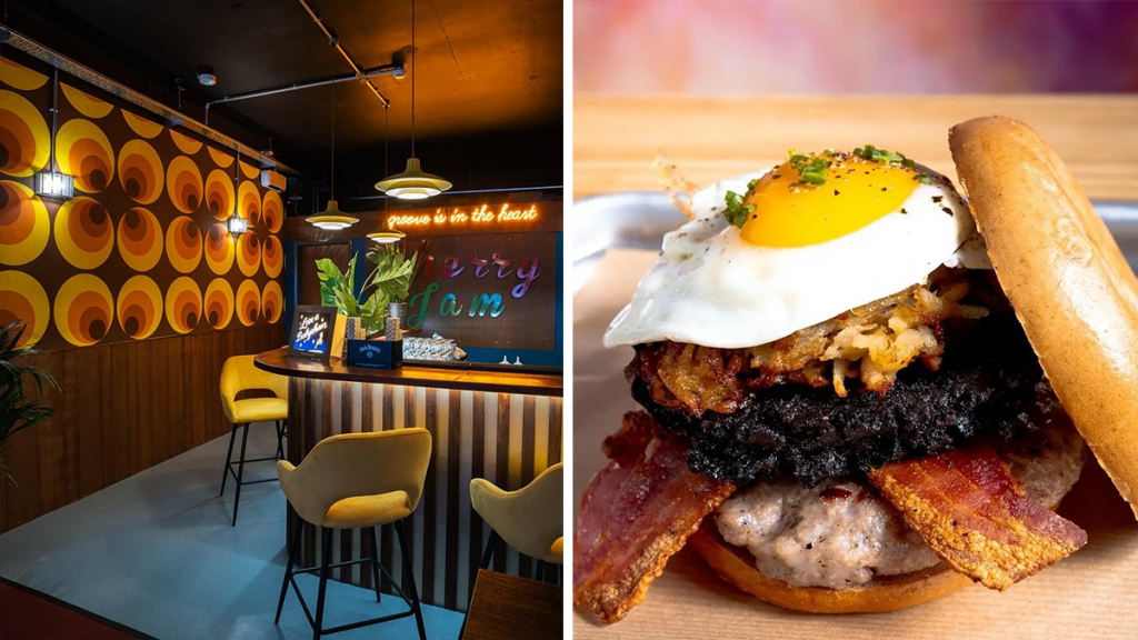 This Rad Retro-Themed Cocktail Bar Has Launched A Bottomless Brunch With Cocktails & Pies