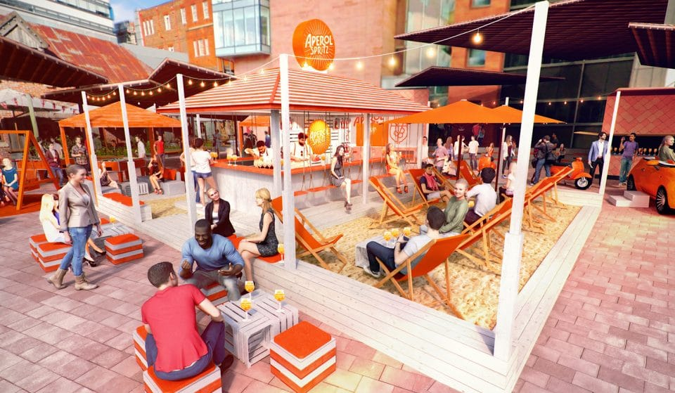 Wind Down With An Aperol Spritz At Manchester's New Italian-Style Beach Bar