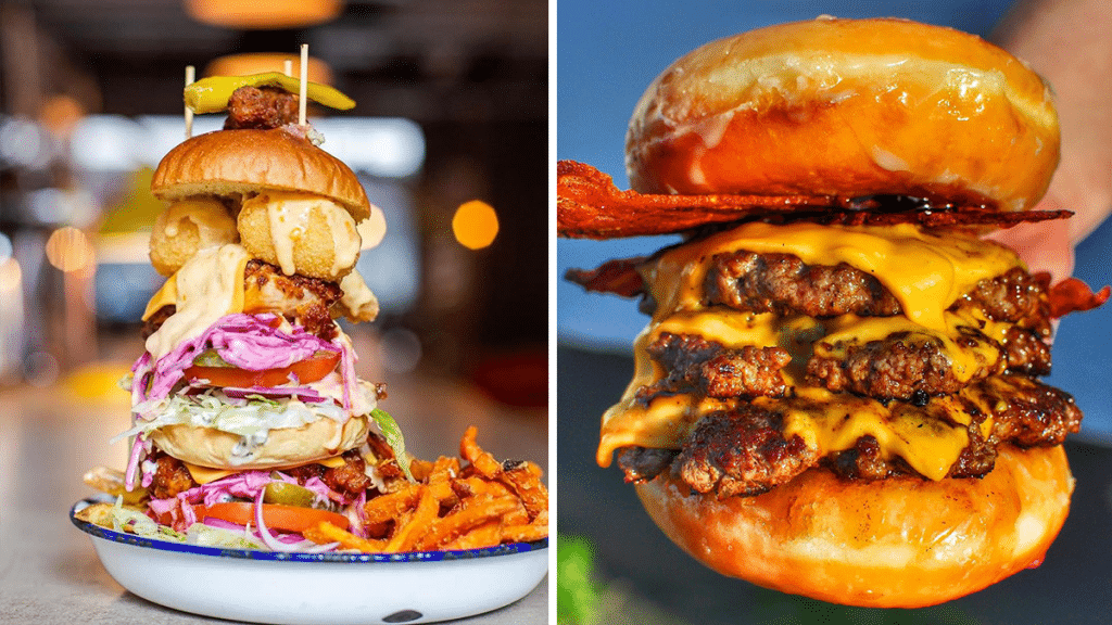 10 Of The Weirdest And Most Wonderful Burgers To Try In Manchester