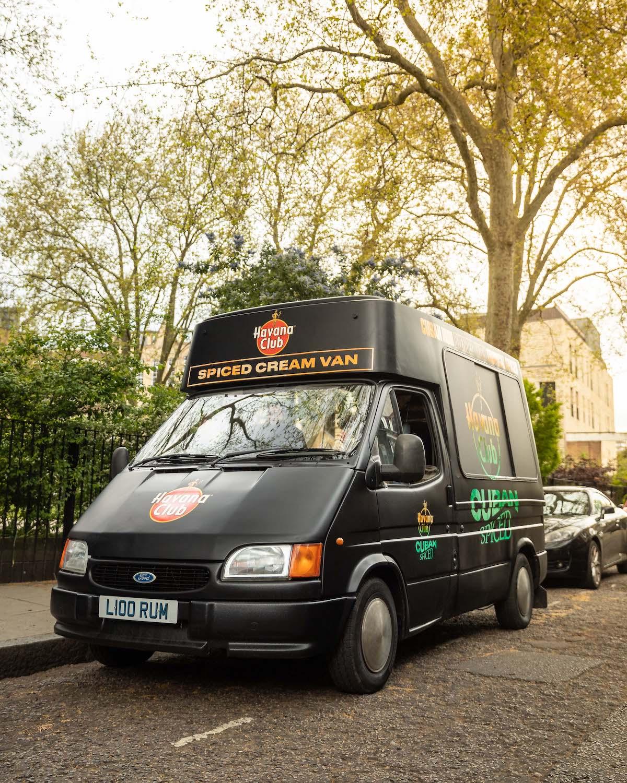 Manchester Havana Club Spiced Cream Van
