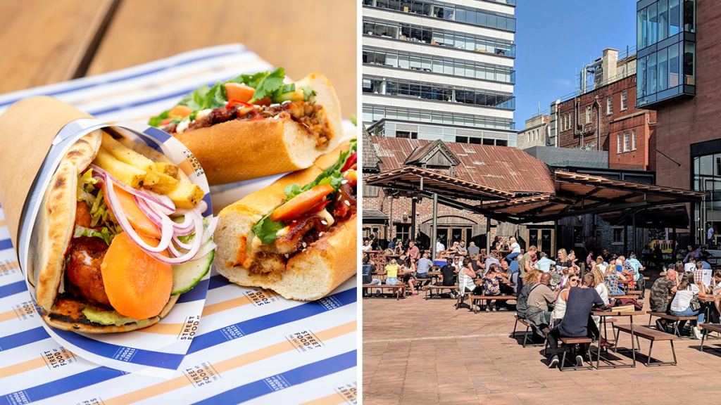 Enjoy Packed Gyros & Aperol Spritz Chicken Wings At Manchester's Favourite Beer Garden