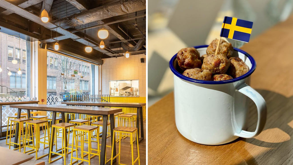 The Manchester Bar Serving Up IKEA-Style Meatball Mugs With A Side Of Scandi Vibes