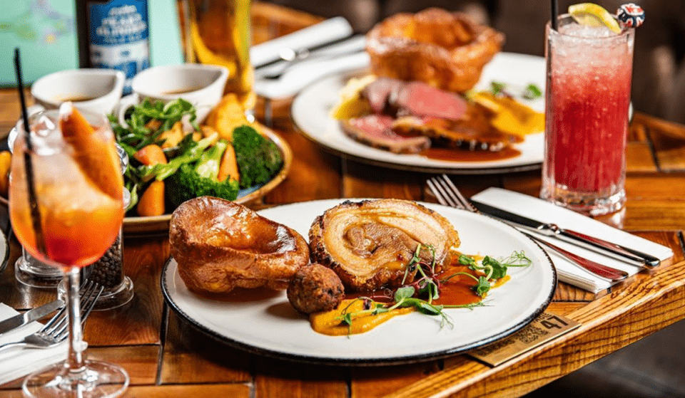 Level Up Your Sunday With These Brilliant Bottomless Sunday Roasts In Manchester