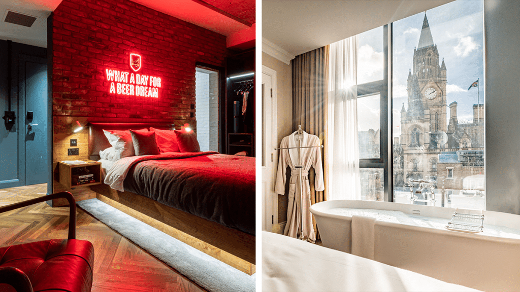 10 Of The Chicest Hotels To Try For A Cosy Manchester Staycation This Year