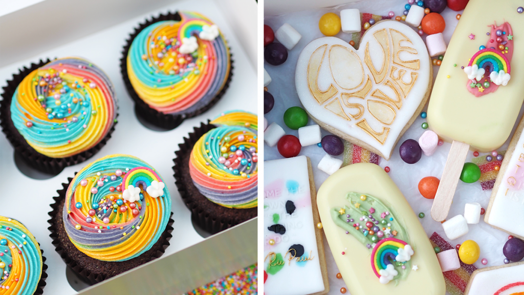 This Manchester Baker Is Selling The Cutest Pride-Themed Cakes & Brownies For Manchester Pride