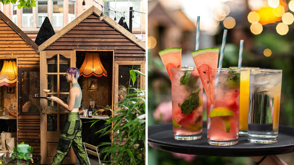 Escape To Manchester's Twinkling Secret Garden That's Home To Delicious Cocktails & Yummy Street Food